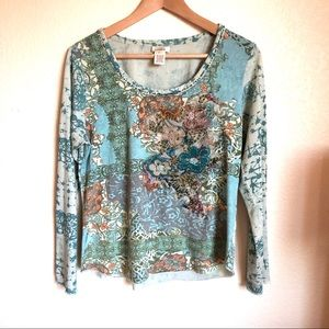 Sundance Whisper Winds Embroidered Top